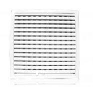 Решетка вентиляционная с регулируемым живым сечением, разъемная 250х250