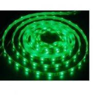Светодиодная лента 3528 12 V 4.8 W 60 LED (диодов) на 1 м зеленая
