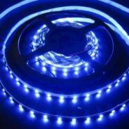 Светодиодная лента 3528 12 V 4.8 W 60 LED (диодов) на 1 м синяя