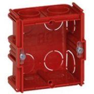 Монтажная коробка Legrand Batibox 1п гл.30мм для кирпичных стен (Арт. 80131)