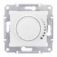 Светорегулятор индуктивный 60-500 Вт проходной поворотно-нажимной Sedna (белый)