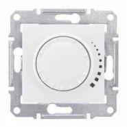 Светорегулятор универсальный 40-600 Вт проходной поворотно-нажимной Sedna (белый)