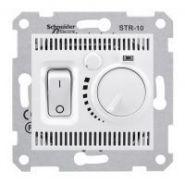 Термостат комнатный 10А 230 В механический Sedna (белый)