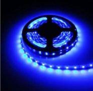 Светодиодная лента в силиконе 3528 12 V 4.8 W 60 LED (диодов) на 1 м синяя