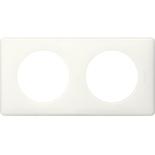 Legrand Celiane2 Белый глянец Рамка 2-я (2+2 мод)