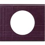 Legrand Celiane2 Рамка на 1 пост,кожа пурпур