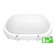 Светильник Navigator 94 828 NBL-O1-8-4K-WH-IP65-LED  (аналог НПБ 1401/НПП 1401)