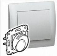 Терморегулятор Legrand Galea Life для теплых полов Aluminium (арт.775689)