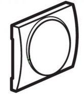 Накладка диммера поворотного 400Вт Legrand Galea Life Aluminium (арт.771368)
