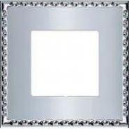 Toledo Рамка 1-ная, Bright Chrome FD01211CB
